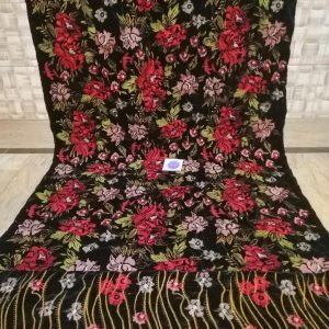 Heavy Embroidered New Style Velvet Shawl