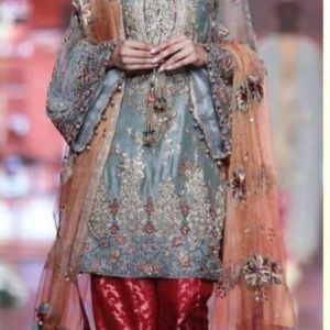 Kashees Embroidered Net Collection