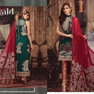 Serene Embroidered Chiffon Collection