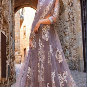 Indian Net Embroidered Collection