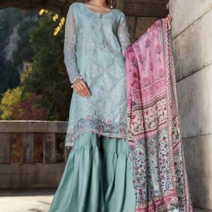 Maria.B Embroidered Lawn Dress