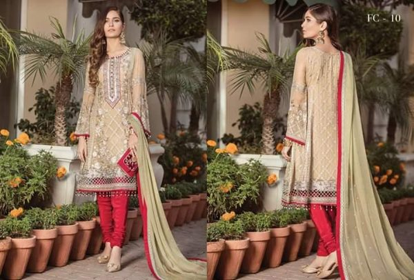 Fancy Maysoori Embroidered Partywear