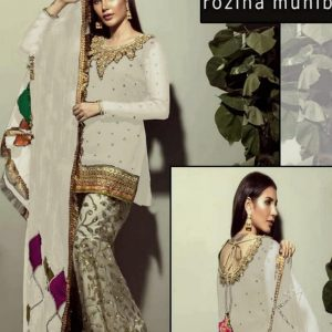 Rozeena Muneeb Chiffon Dress