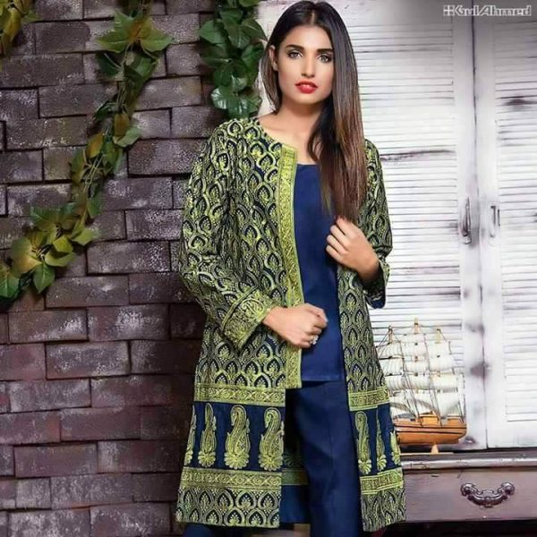 GA Embroidered Lawn Collection