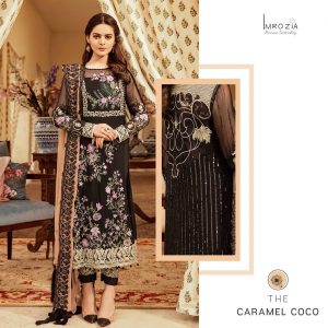 Imrozia Chiffon Embroidered Collection