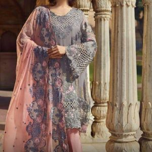Akbar Aslam Embroidered Chiffon