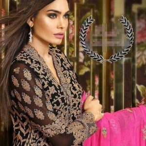 Asim Jofa Embroidered Dress