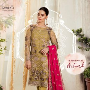 Imrozia Embroidered Chiffon Collection