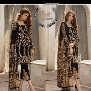 Gulal Heavy Embroidered Dress