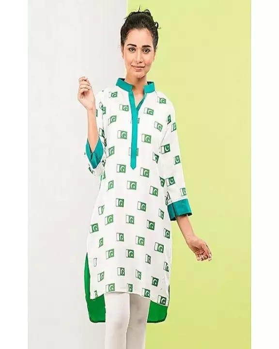 Special Independence Day Kurti