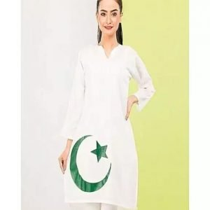 Independence Day Stitched Kurti