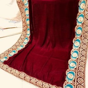 Aiman Khan Embroidered Shawl