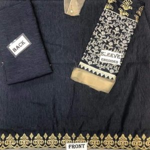 Embroidered Fancy Denim Kurti