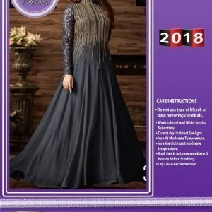 Dashing Indian Grey Maxi