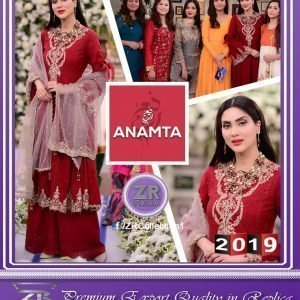 Anamta Cotton Embroidered Dress