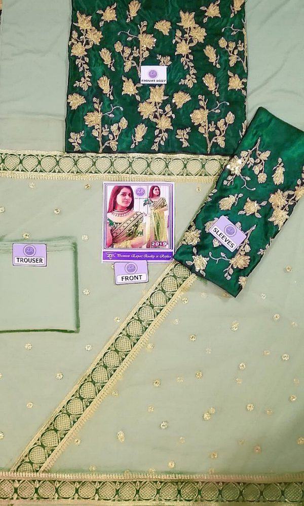 Heavy Embroidered Indian Saree